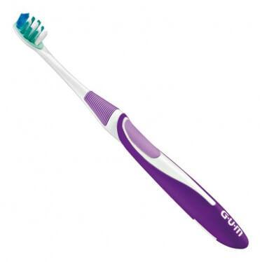 Зубная щетка GUM ACTIVITAL, компактная средне-мягкая