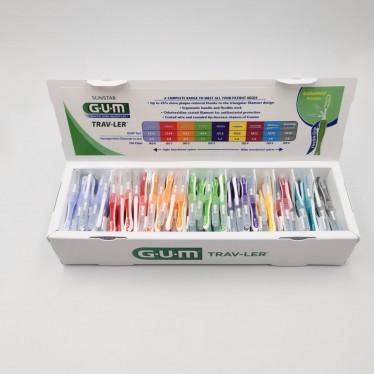 Набор межзубных щеток GUM Travler для стоматологов