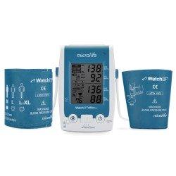 Автоматичний цифровий вимірювач артеріального тиску Microlife Watch BP office ABI