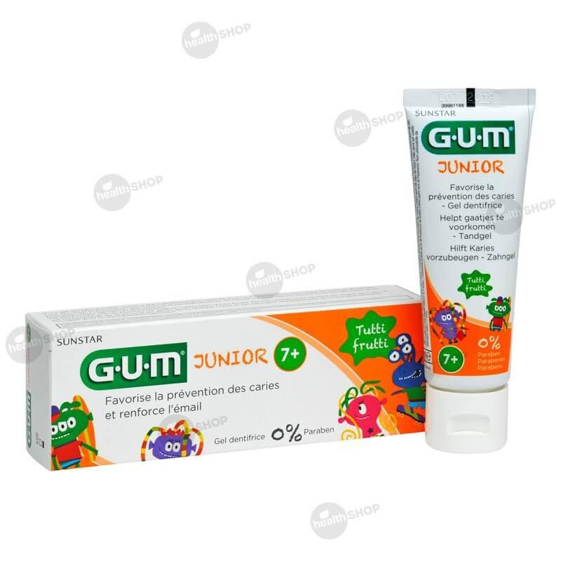 зубная паста для детей возрастом от 7 лет